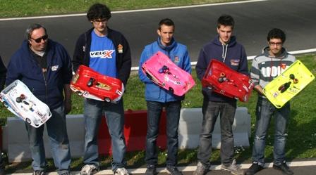 da sinistra: Berardi, Ometto, Spagnolo, Marrone e Ciurlante